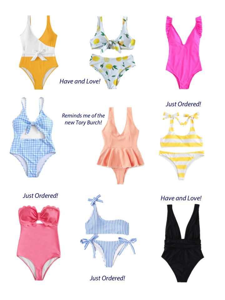Swimsuit Roundup from SheIn
