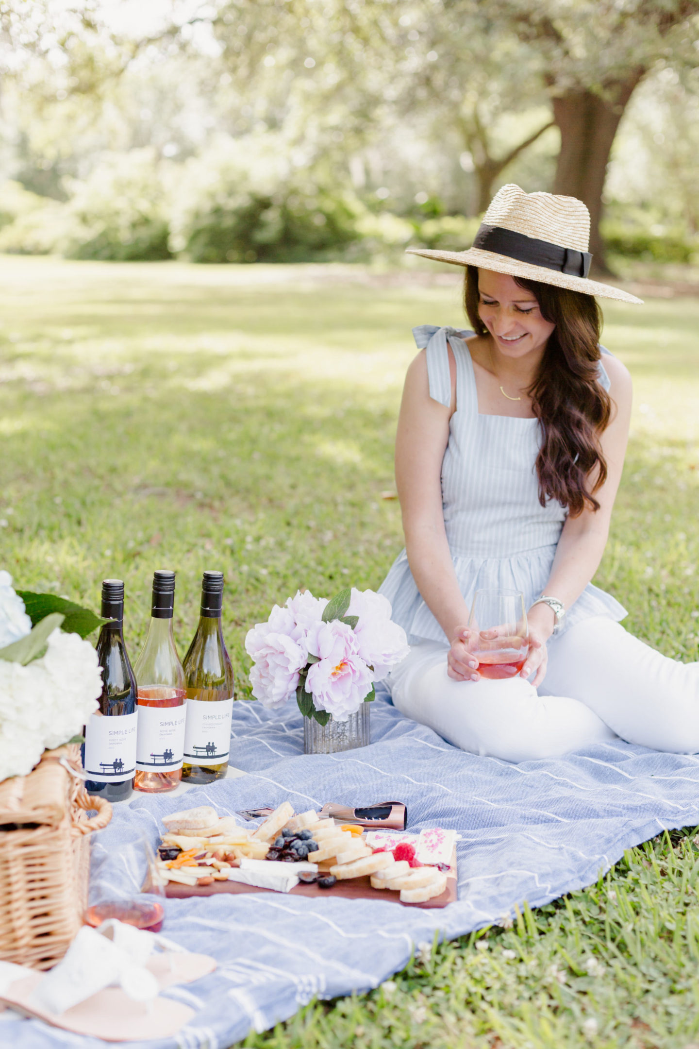 Picnic With Simple Life Wines
