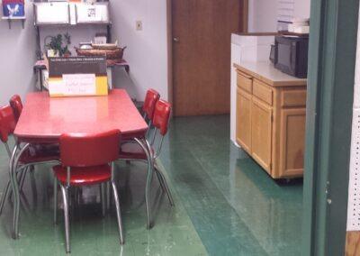 Giustina -Staff Room, Before