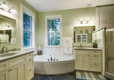 Bathroom remodel by John Webb Construction & Design
