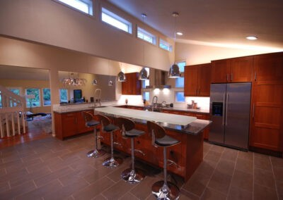 Kitchen remodel by John Webb Construction & Design