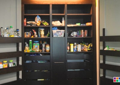 Kitchen - Custom Shelving