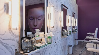 Perfect Eyebrow salon remodel in Eugene, OR