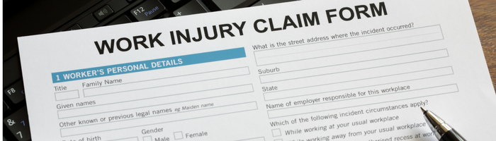 Work Injury Form