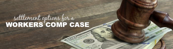 settlement options for comp case