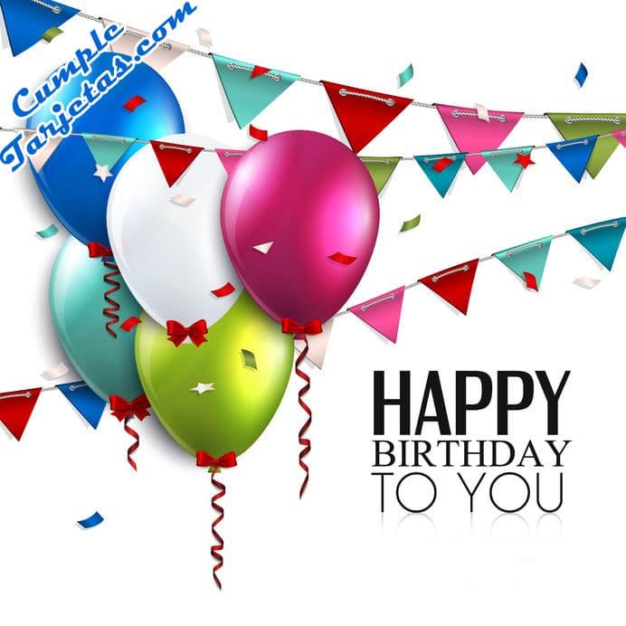 Tarjetas con Frases de Feliz cumpleaños para un amigo