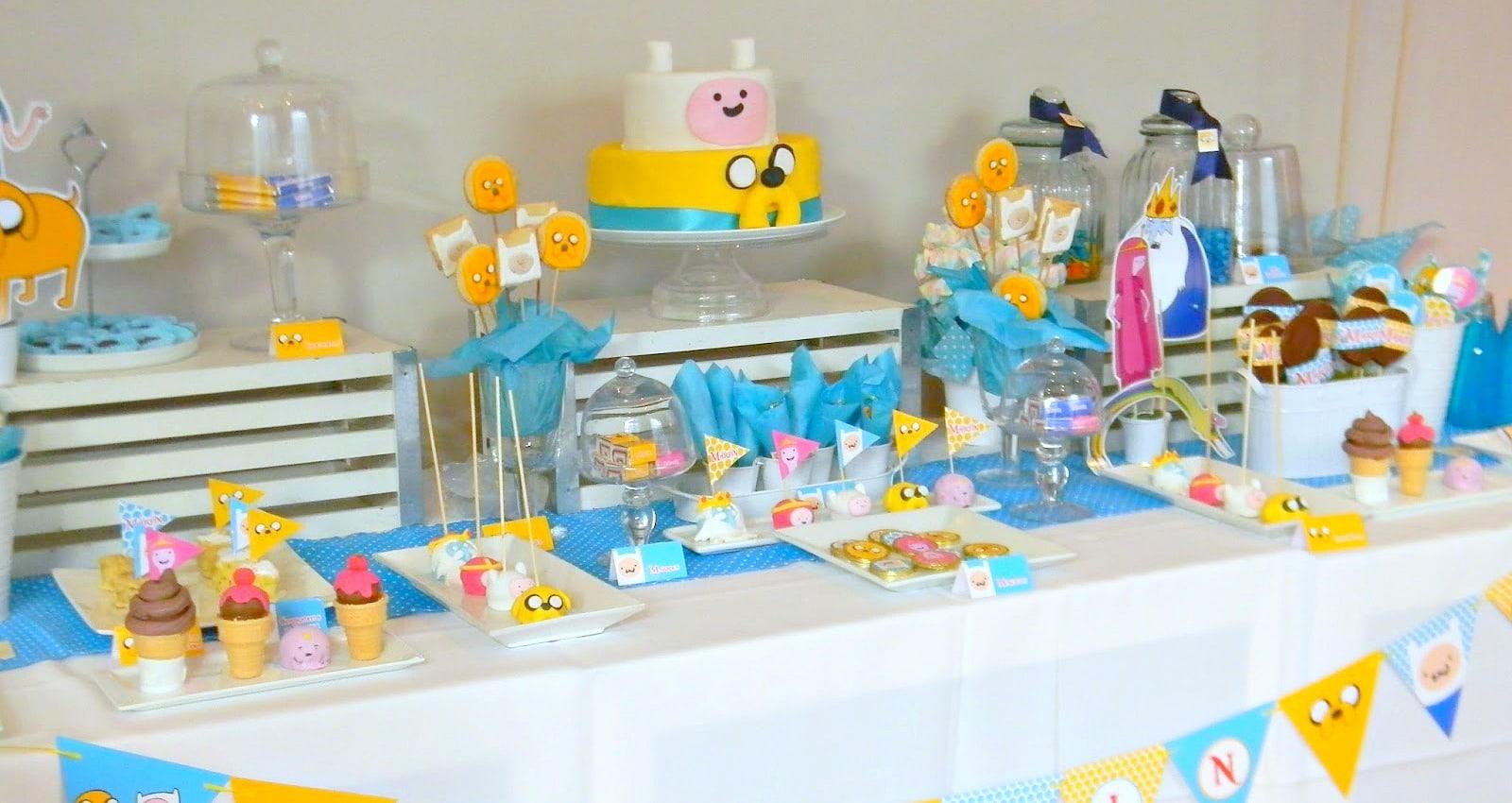 Lindas decoraciones de mesas para un cumpleaños