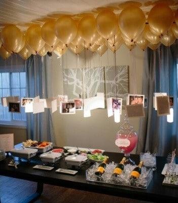 Inspiración para una fiesta de cumpleaños de 40 años