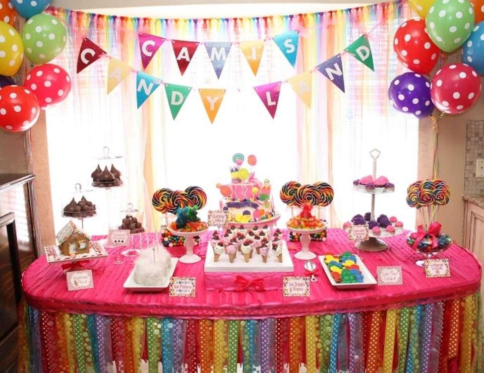Pasos para decorar una mesa de cumpleaños