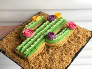 Cactus Cockie Cake