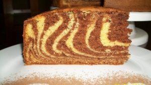 Torta marmoleada
