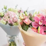 Lindos diseños de ramos de flores para cumpleaños