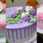 Lindos diseños de tortas de cumpleaños para mujer