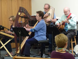 Picture of Peoples Strings group playing