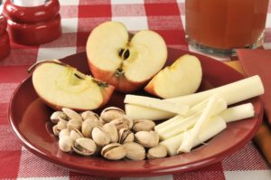 Keeping healthy snacks available will help you with weight maintenance during the holidays.