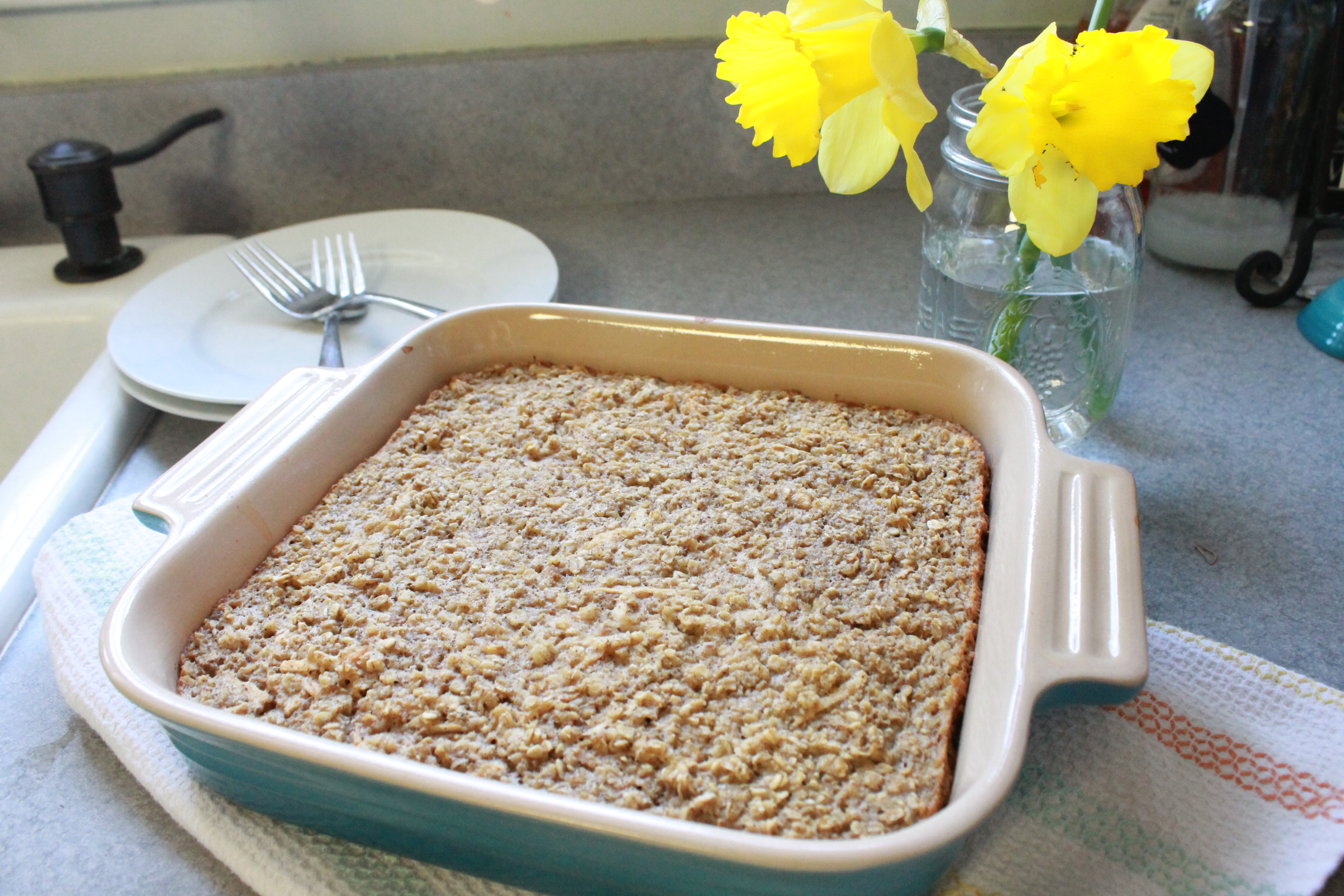 Lifestyle Medical Center Recipe Highlight: Baked Apple And Nut Oatmeal