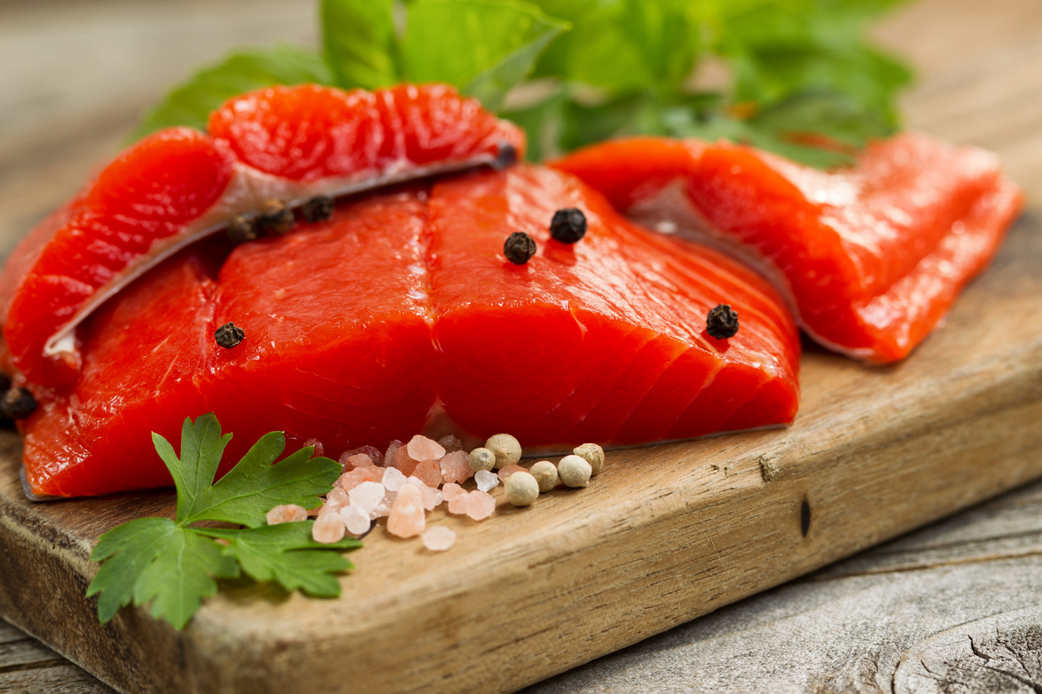 This Fresh Copper River Salmon Is A Perfect Paleo Diet Meal.