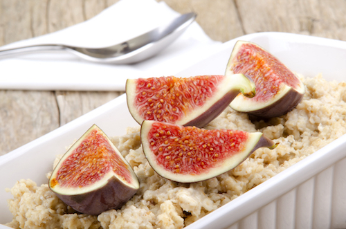 Ricotta Oatmeal With Figs And Honey