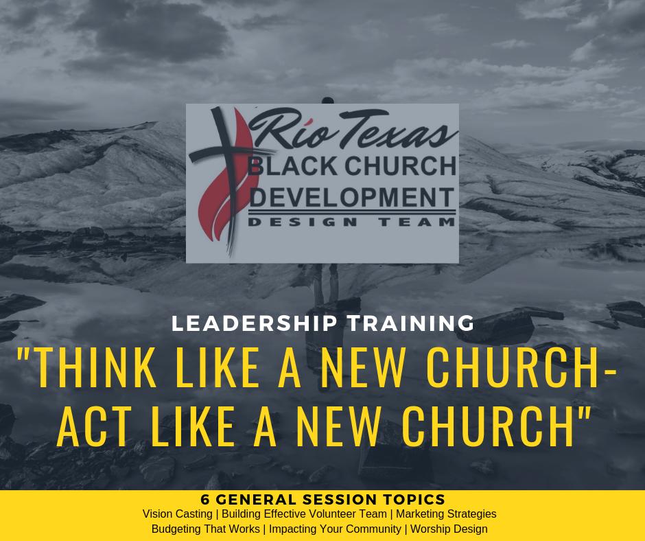 Think Like A New Church, Act Like A New Church