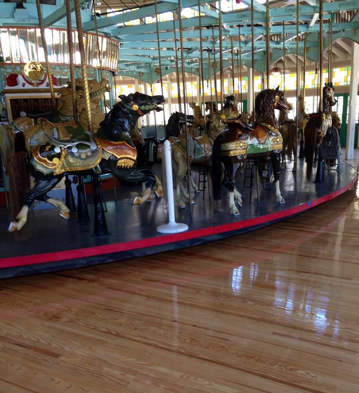 top carousel