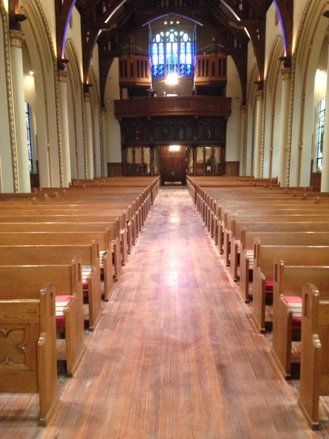 screen, refinish, hardwood, commercial hardwood, church