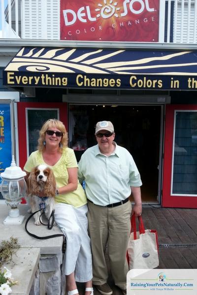 Ohio dog-friendly retail stores.