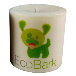 EcoBark Pet Odor Eliminating Pillar Soy Candle