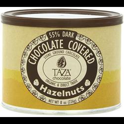 Taza Chocolate Chocolate Covered Hazelnuts