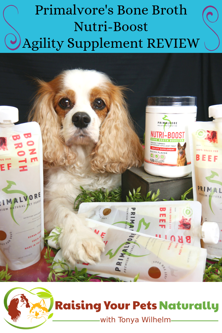 Dog Joint Supplements   Primalvore Nutri-Boost Bone Broth Boosted Agility Supplement Review