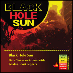 Black Hole Sun Chocolate Bar
