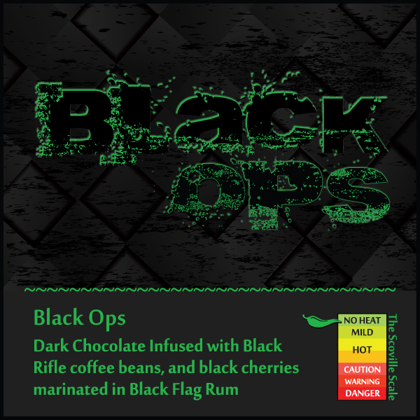 Black Ops Chocolate Bar