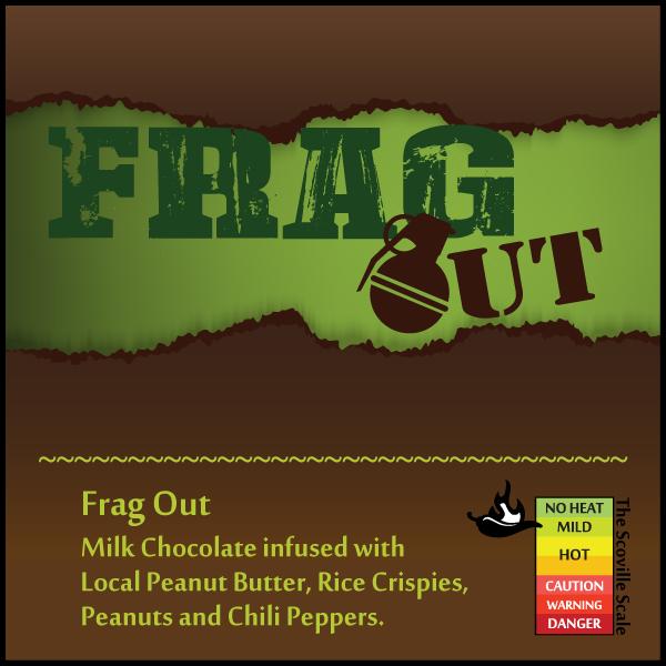 Frag Out Chocolate Bar