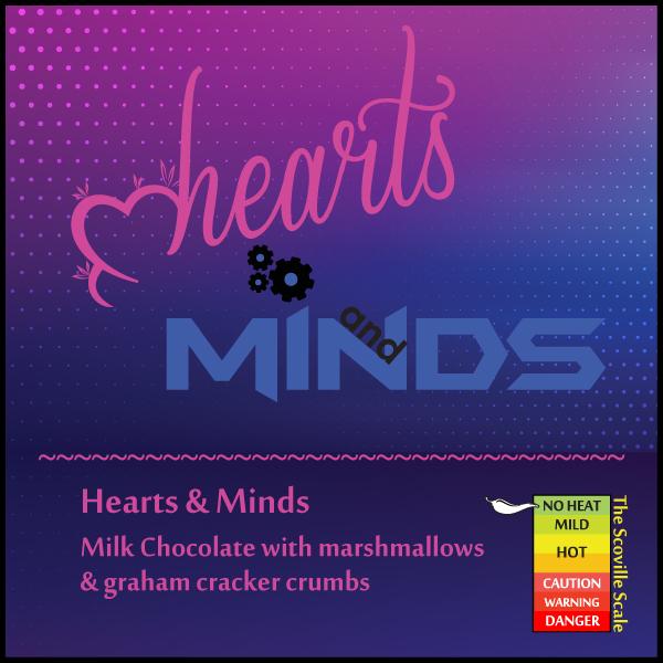 Hearts and Minds Chocolate Bar
