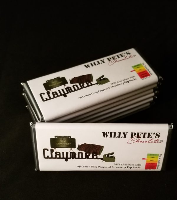 Claymore Chocolate Bar