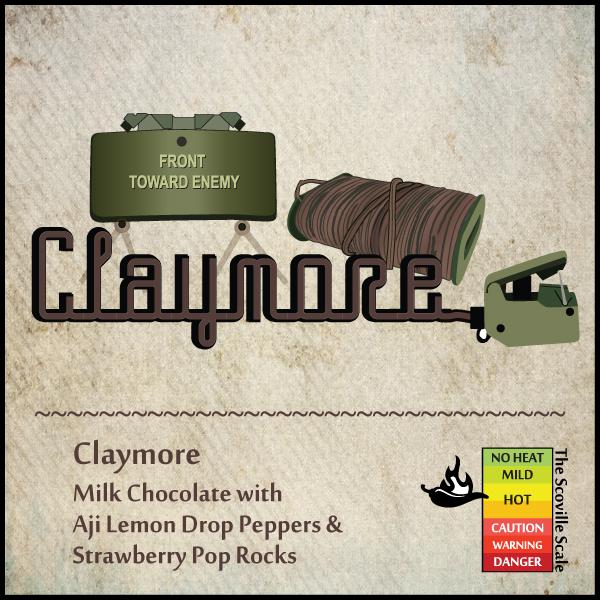 Claymore Chocolate Bars