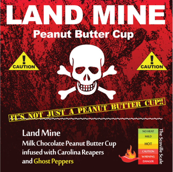 Land Mine Peanut Butter Cup