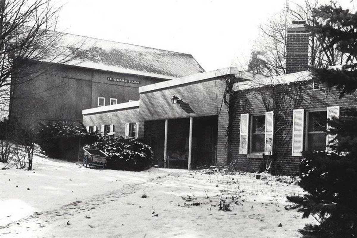 Hubbard Hill Farm in 1975