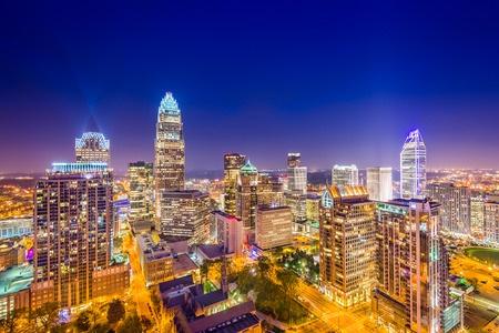 Charlotte NC Skyline