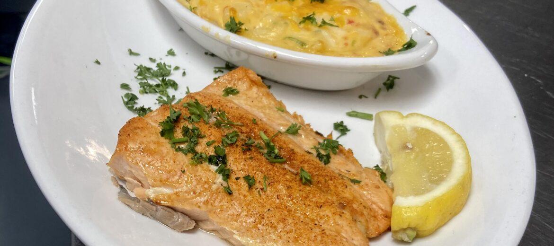 Broiled Salmon