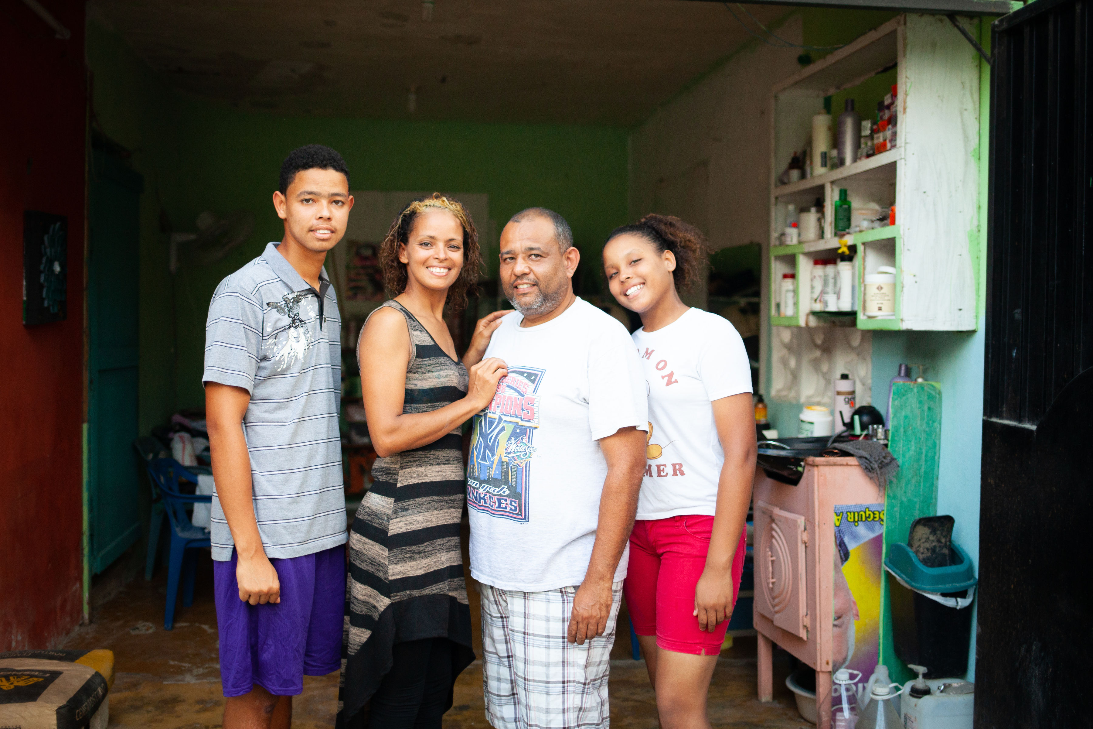 How Gissel built a business that brought her family off the streets and into school