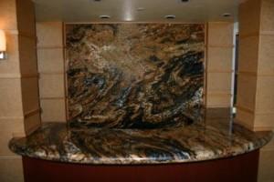 Commercial Bldg-Reception Area-Granite-LOW
