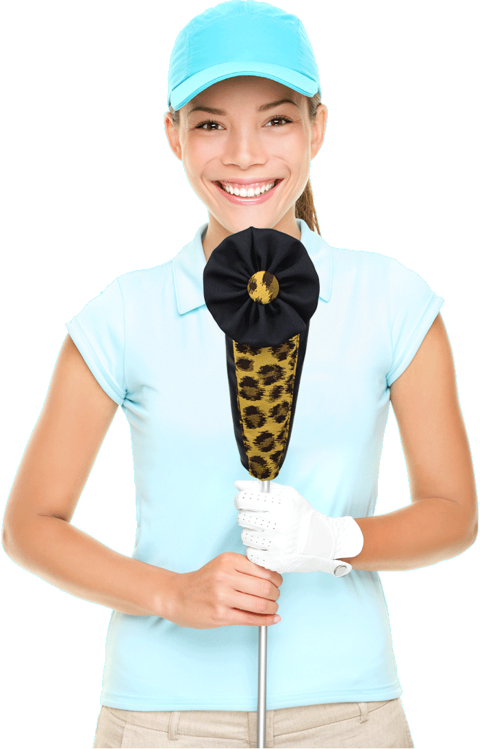 Unique golf headcovers for women