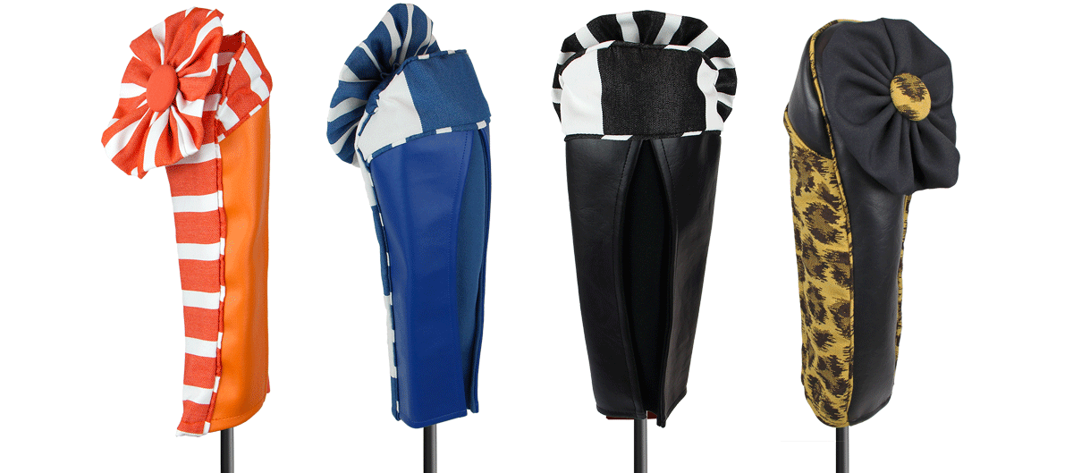 Unique golf club headcovers for women