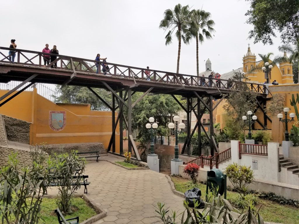 Puente de los Suspiros in Barranco - Lima, Peru