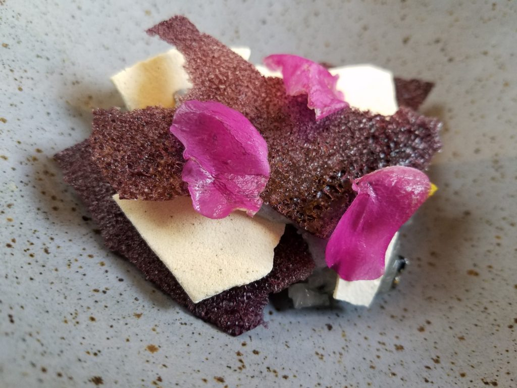 Frozen Purple Mashwa- pitahaya- muna at Kjolle