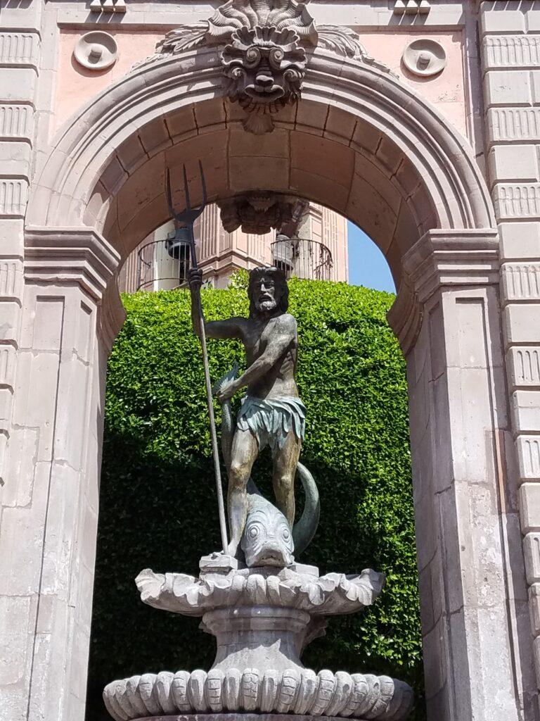 Neptunes Fountain, Queretaro, Mexico