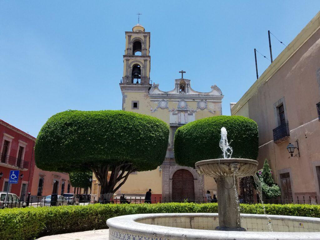 Templo de San Antonia de Padua, Queretaro, Mexico