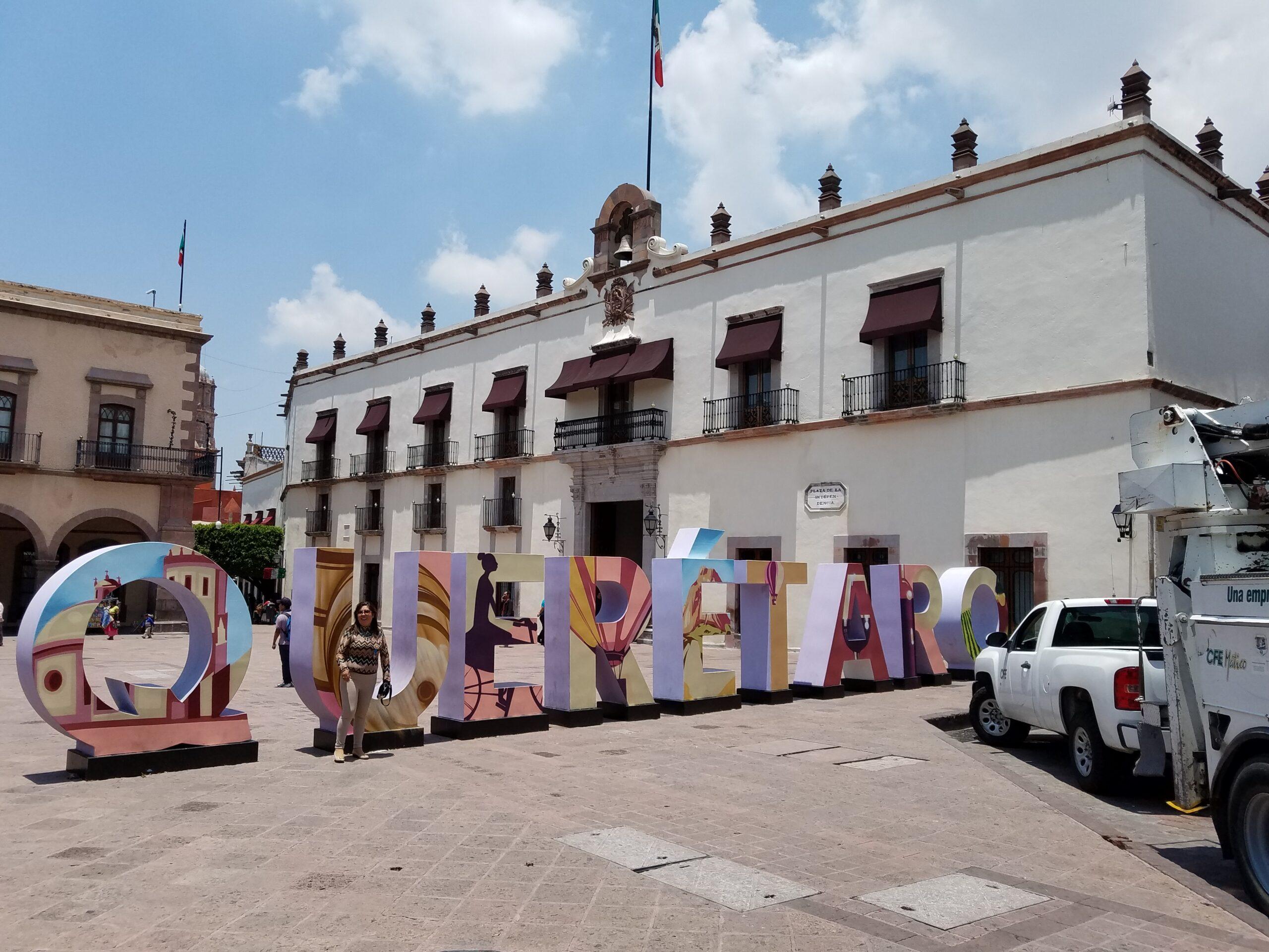 Casa de Corregidora in Plaza de Armas, Queretaro, Mexico