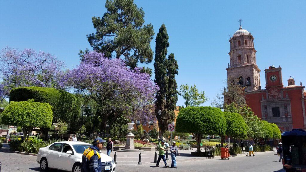 Jardin Zenea, Queretaro, Mexico