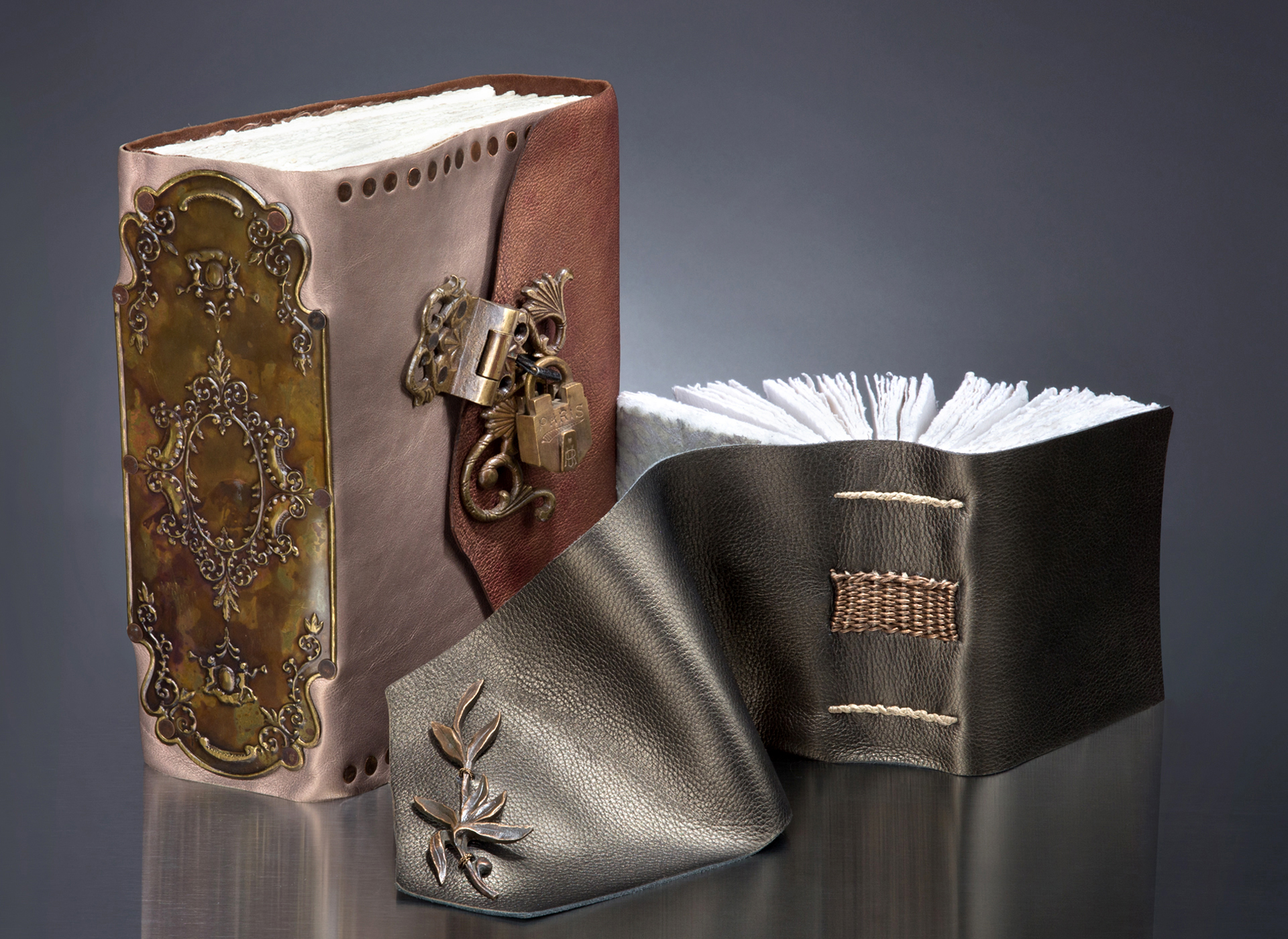 Iona Handcrafted Books - handmade leather journals